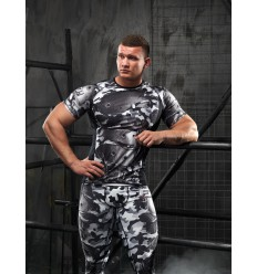 Rashguard Men CAMO-Gray