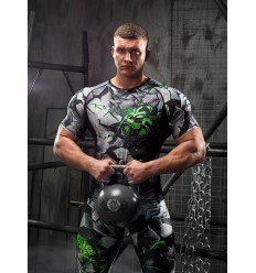 Rashguard Men DAVID - Green