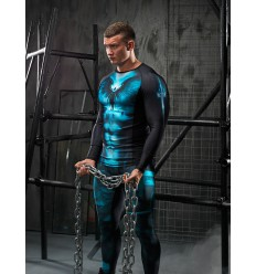 Longsleeve Rashguard Men DARK ANGEL