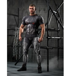Leggings Men CYBER black
