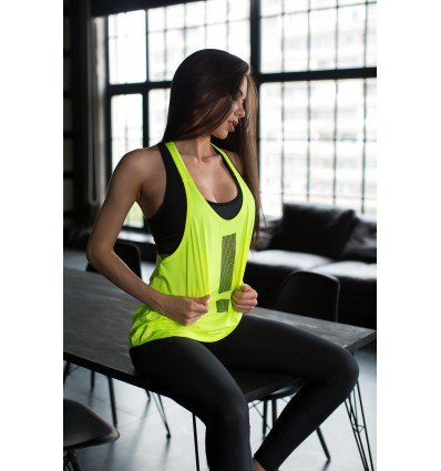 Blouse Baggy - lime